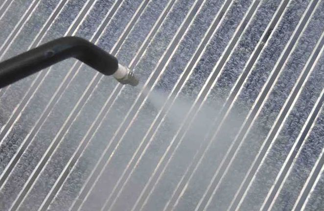 How to do the spray cleaning of industrial aluminum profile?
