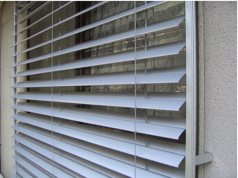 Aluminum shutter process technology