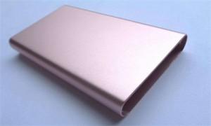 sandblasting aluminium profile