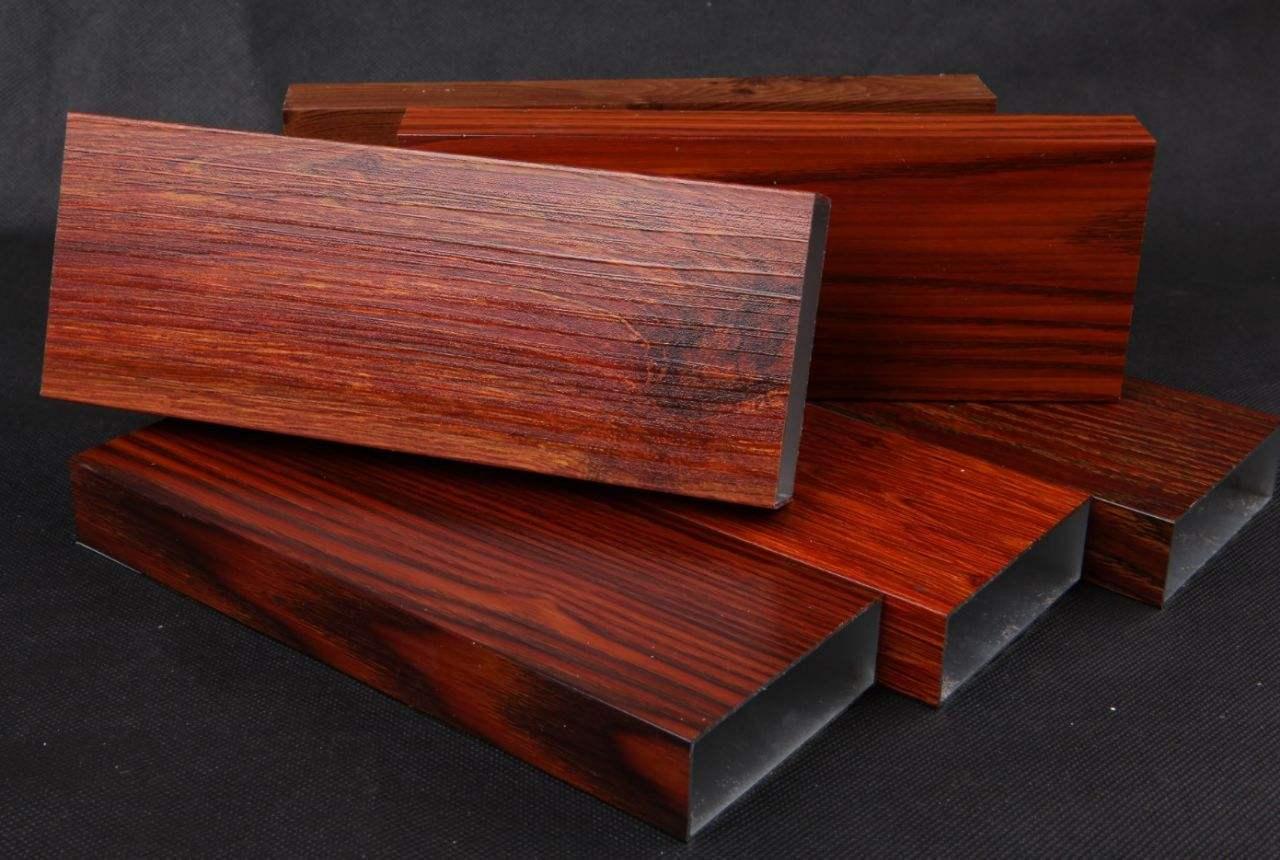 woodgrain like aluminium profile